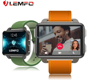 "LEMFO LEM4 Pro 2.2"" Android Smart Watch Phone GPS SIM Card MP4 Bluetooth WIFI Smartwatch 1GB 16GB 3G Phone Watch 1200mAh Battery"