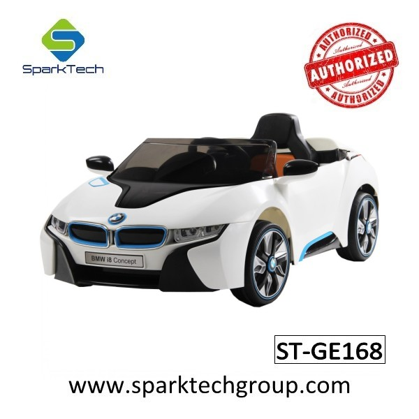 12v Bmw I8 Kids Ride On Remote Control Power Car Licensed Ride On