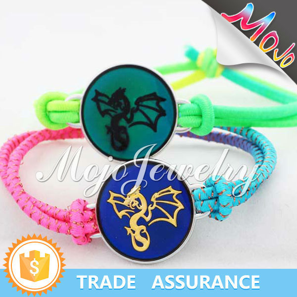 Flying Dragon Pattern with Good Prices Make a Mood Charm Bracelet Wholesale