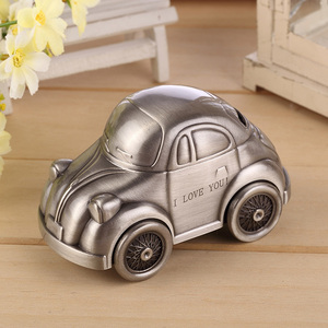 Creative old car piggy banks bank money saving box new design