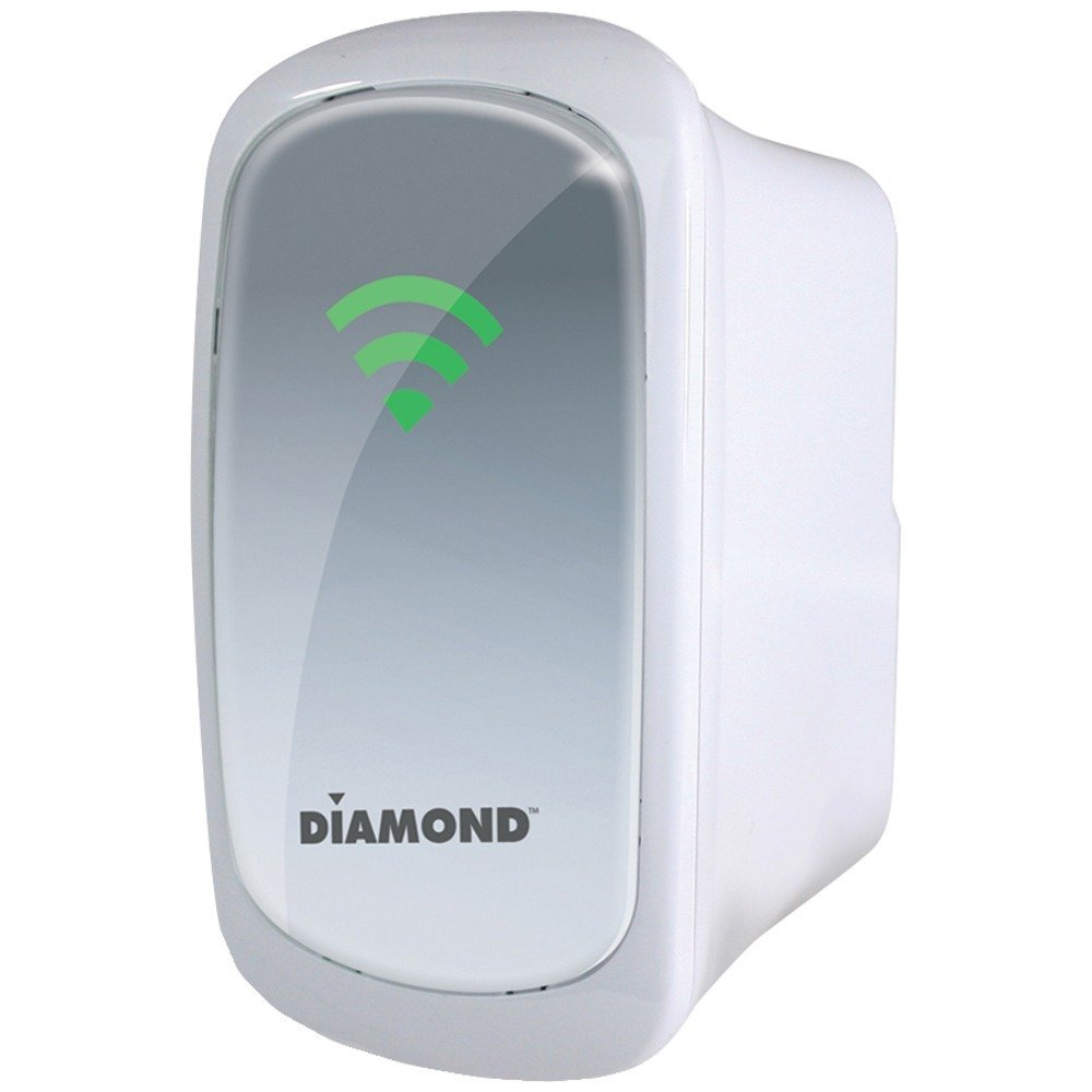 DIAMOND WR600NSI Dual Band 2.4GHz/5.0GHz Wireless 802.11n Range Extender Electronics Computer Networking