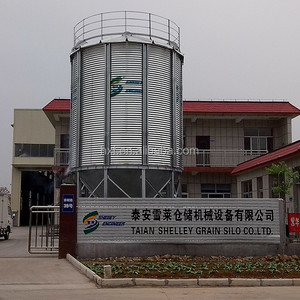 2 ton small poly grain steel silo