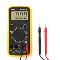 2017 hight quality VC9205A digital multimeter manual range digital multimeter Capacitance resistance test meter