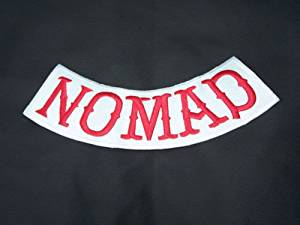 Buy Red Nomad Patch Bottom Rocker Outlaw MC Club Group Gang