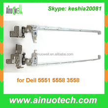 Laptop lcd hinge for Dell 5551 5558 3558 notebook hinges