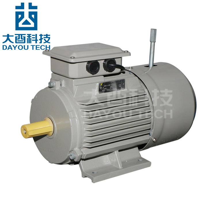 Heavy Duty Ac Gear Reduce Flange Mount 40 Rpm 3 Phase Squirrel Cage Induction Electric Motor 1kw