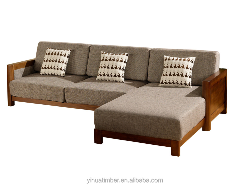Chinese Style Solid Wood Sofa Design Modern Wood Sofa