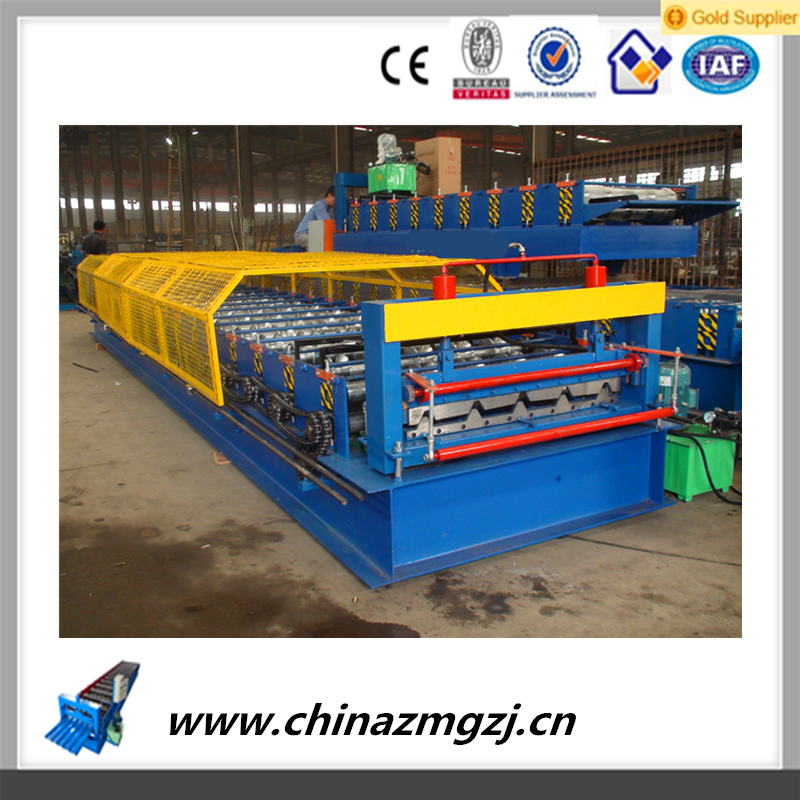 aluminum roller forming Hot Sell Making Metal Roofing Sheet Ibr Roof Panel Forming Machine
