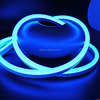 120V Blue Led Flex NEON Rope Light Strip Waterproof for Christmas Lighting, Accessories Included