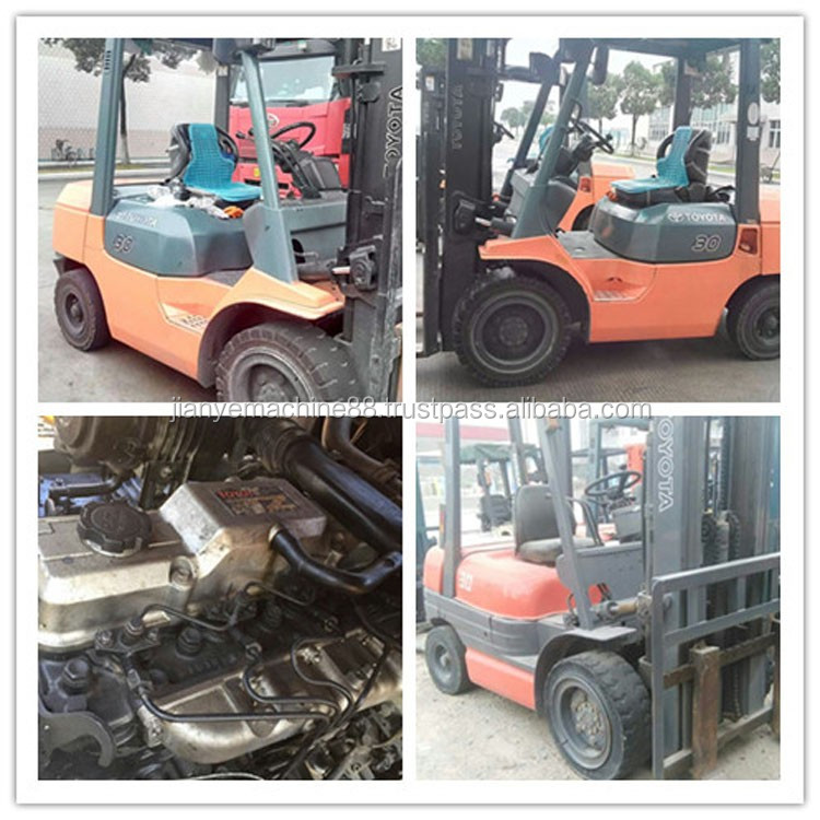Good Condition Toyota Used 3 Ton Forklift Price