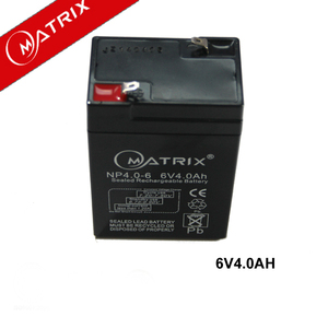 Reliable and good 6v 4ah 0.64kg weight rechargeable lead acid battery