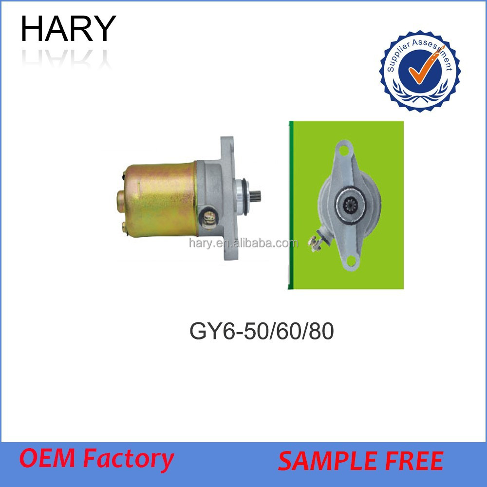 GY6 Engine Parts Starter Motor 50cc