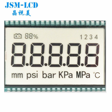 Factory Custom 7 segment digit 8 <span class=keywords><strong>lcd</strong></span>-scherm <span class=keywords><strong>TN</strong></span> <span class=keywords><strong>lcd</strong></span>