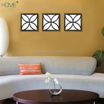 Geometric Art Mirror Effect 3d Wall Sticker Tv Backdrop Door ...