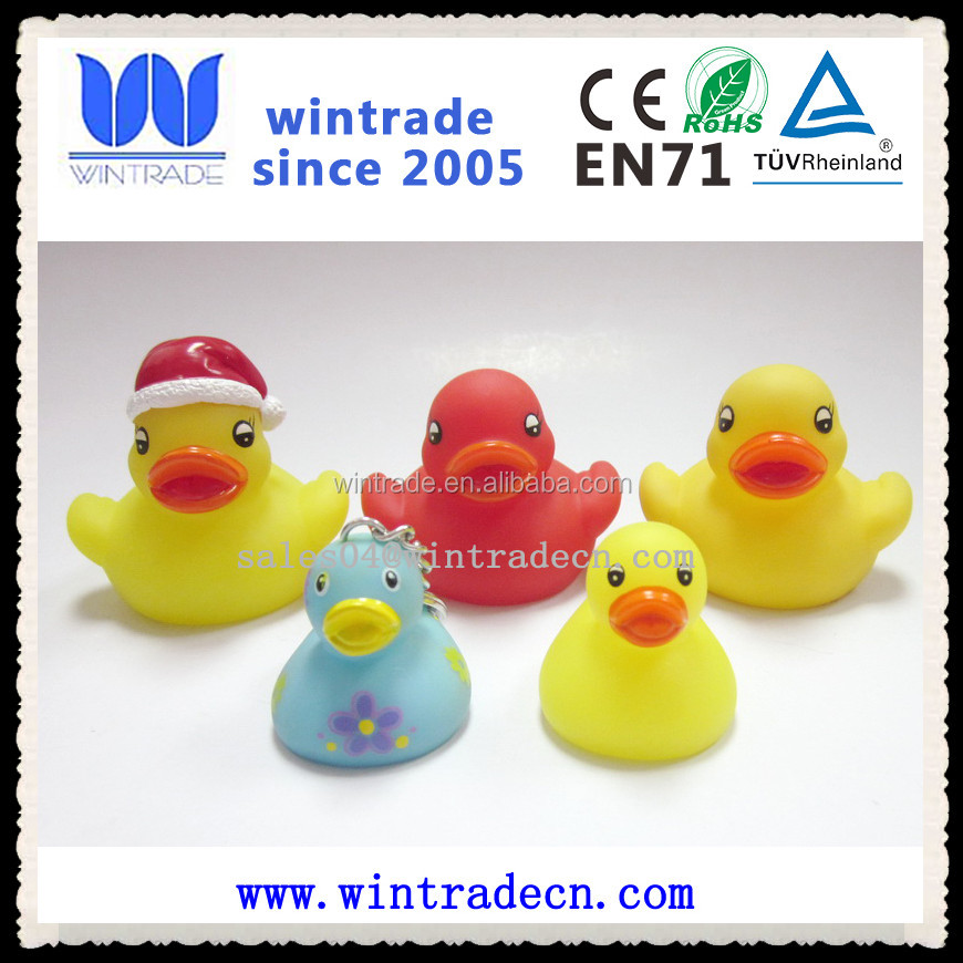 small,middle,large size yellow rubber bath duck for kids