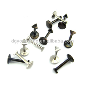 Stainless Steel Triangle Top Small Labret Stud