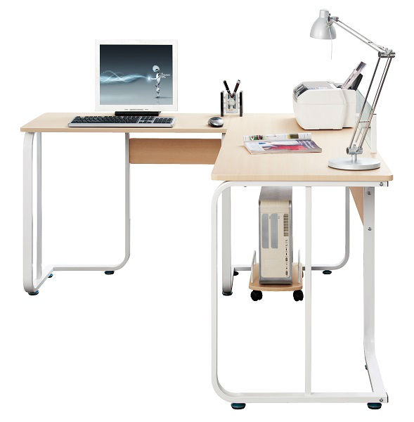 Esquina reposteria de madera escritorio de la computadora - Mesas para ordenadores ...