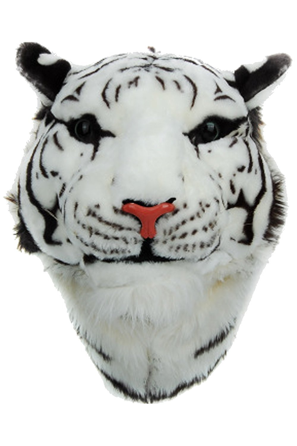 fa1f9e386f Get Quotations · Boomtrader Plush Toy Backpack Tiger Dome Head Backpack  Children Gift Siberian Tiger Head Backpack