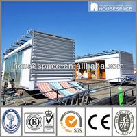 U Shape Cement Container House Design