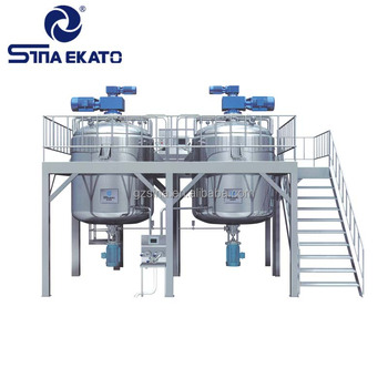 Engineer available liquid detergent production line, liquid soap mixing machine