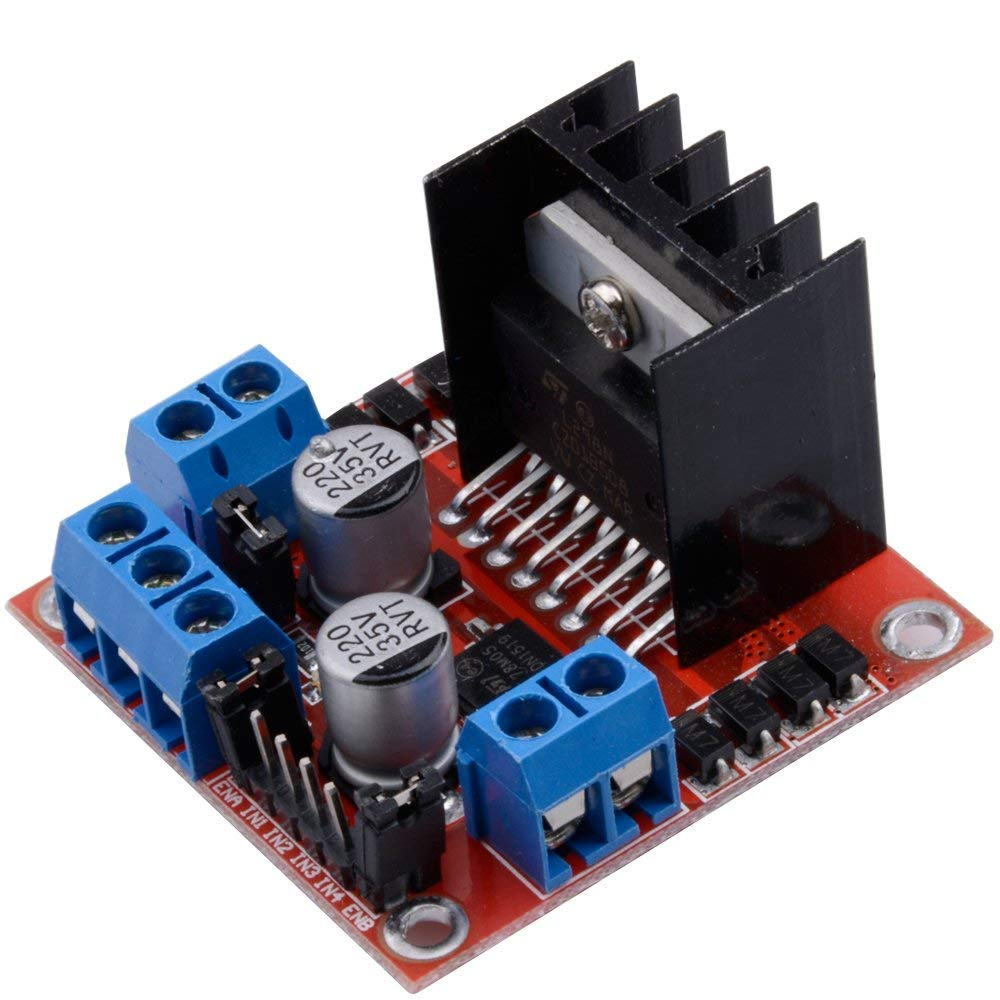 L298N Motor Drive Controller Board Module Dual H Bridge DC Stepper for UNO R3