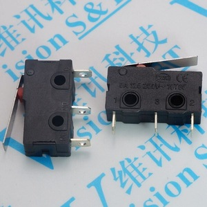 Brand New 250V 5A Quality 3 Pin Tact Switch Sensitive Microswitch Handle KW11-3Z