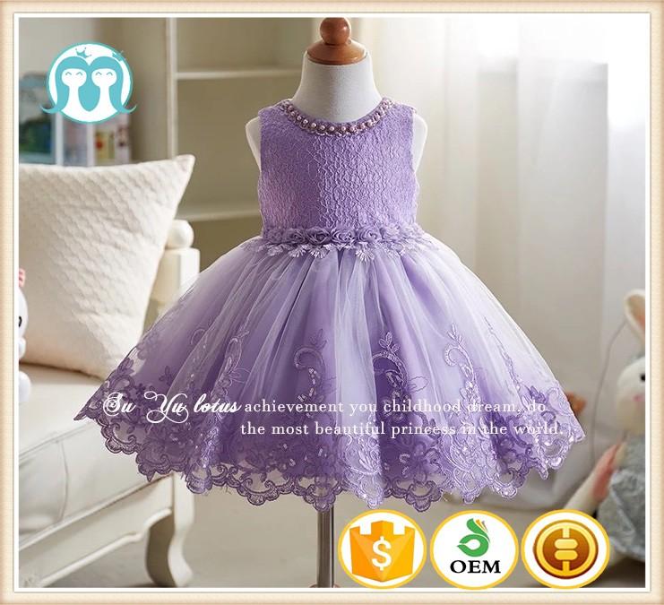 2017 Bebé Boutique Ropa Para Niñas Puffy Rosa Princesa Vestido ...