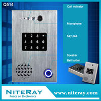 Rfid card door access control system ip phone voip