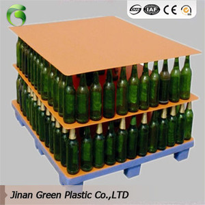 Manufacture Plastic Layer Pads PP Pallet Sheet For Glass Bottle Packing
