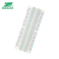 Wanjie High quality 840 points round hole solderless breadboard