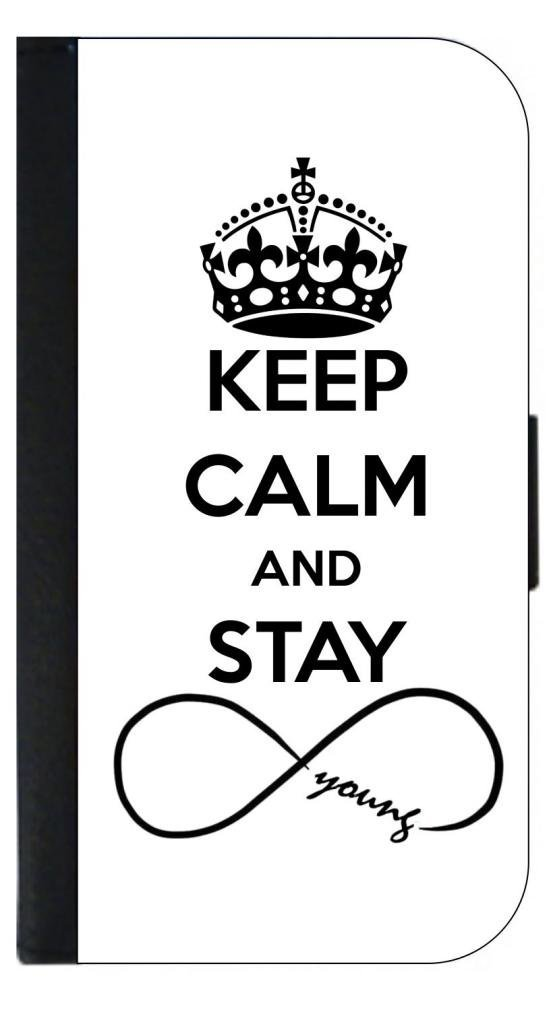 Buy Keep Calm And Stay Forever Young Infinity Symbol Iphone 5