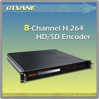 (DMB-8820) IPTV Streaming Encoder/8 Channel HDMI H.264 1080P Full HD Radio TV Transmitter IPTV Streaming Encoder