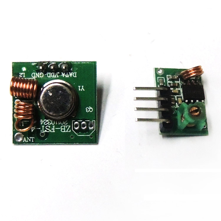 DIY RF Wireless Module Transmitter and receiver module 315 MHZ 433MHZ frequency 1000 meters transceiver
