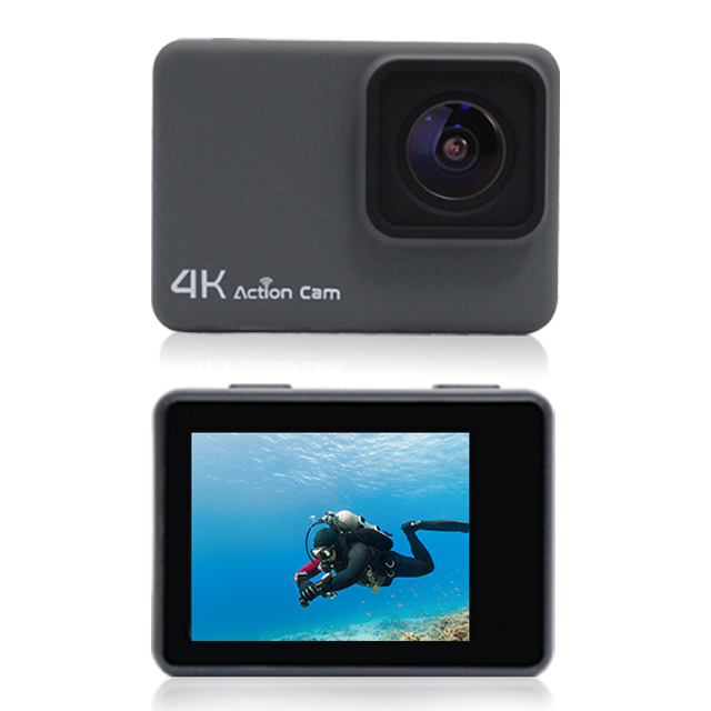 Waterproof Diving Action <strong>Camera</strong> 4K <strong>Wifi</strong> , Lcd Display Action Cam For Car, <strong>Wifi</strong> <strong>Mini</strong> <strong>Camera</strong> 1080P