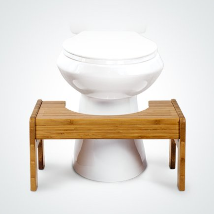 image quarter bamboo bathroom stool   new arrival toilet foot stool adjustable