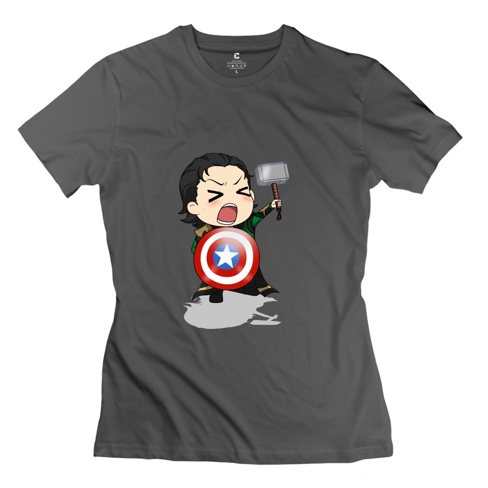 2015 Fashion Tom Hiddleston Loki Mibu shirts summer short ...
