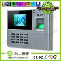INJES New Products Color screen Bio office attendance equipment for management employee