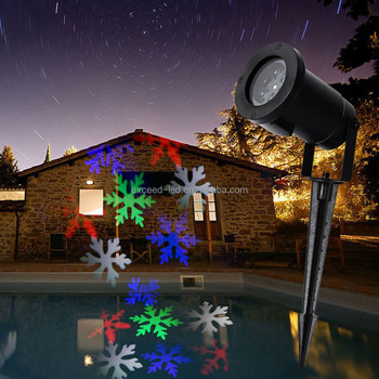 2017 new snowflake projector lowes outdoor christmas laser light