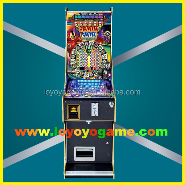 7 balls electronic super bonus pinball game machine arcade