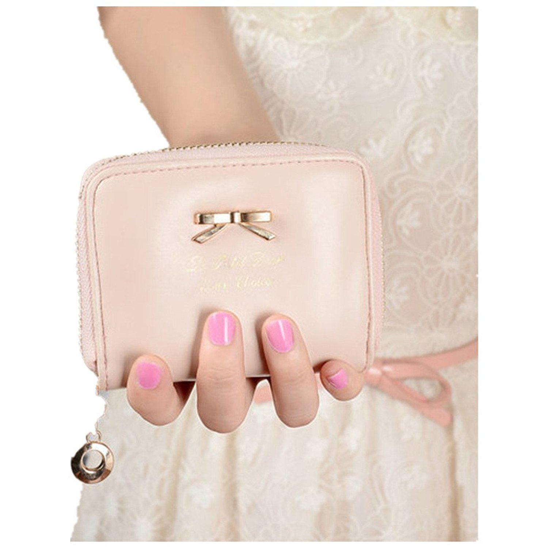 bd0a958ef Get Quotations · Livoty Women Fashion Cute Purse Clutch Wallet Short Small Bag  PU Card Holder