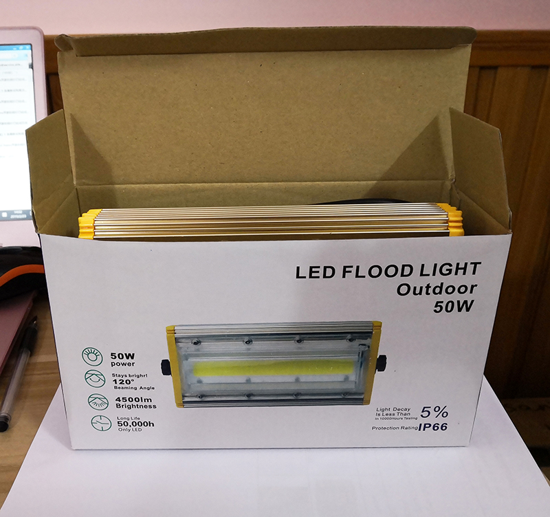 High quality high lumen 100 watts led flood light for garden light