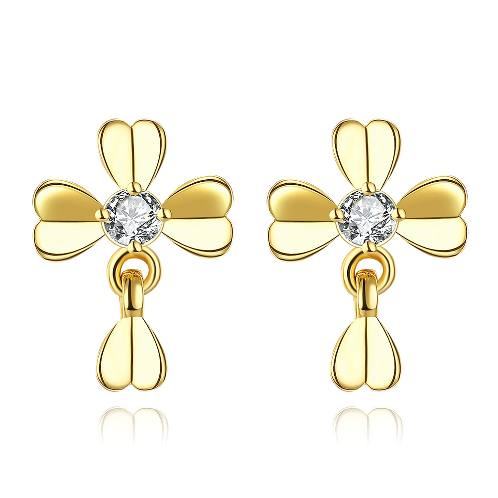24k Gold Earrings, 24k Gold Earrings Suppliers And Manufacturers At  Alibaba