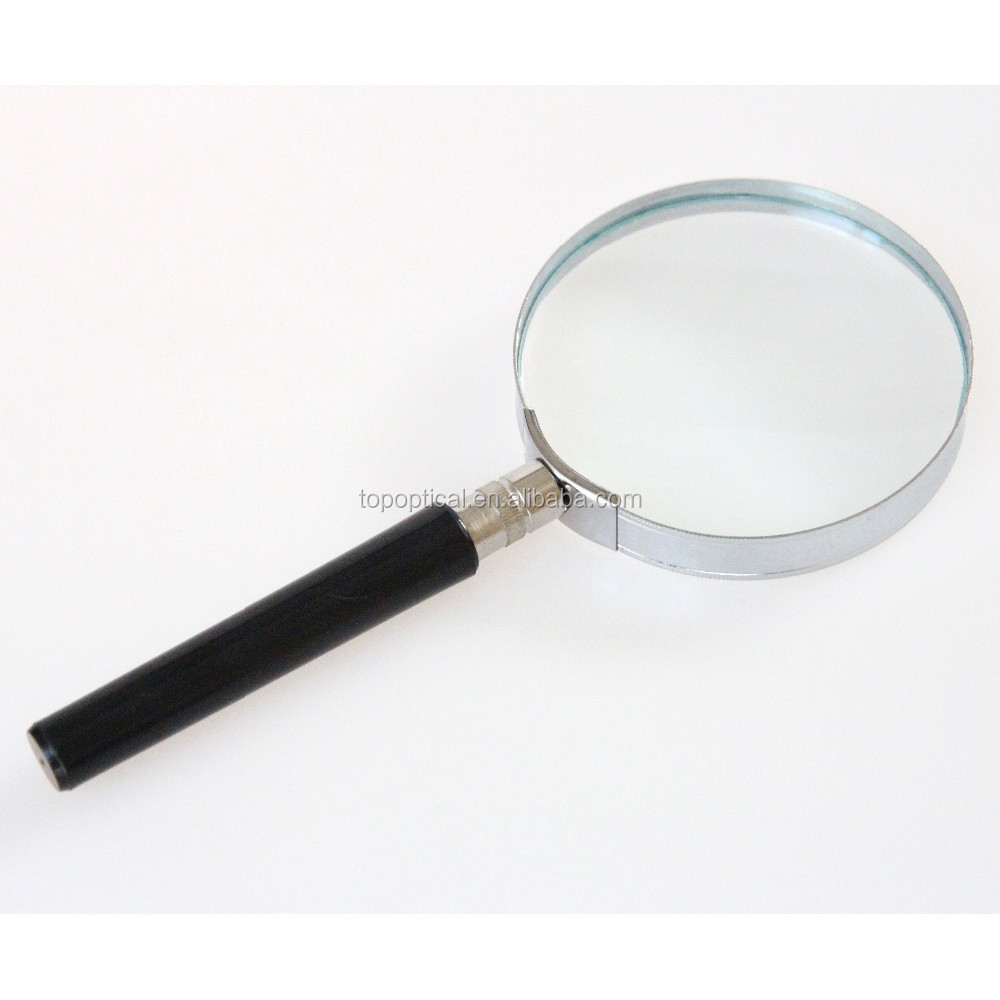 5x 90mm metal frame magnifier cheap price magnifying glass