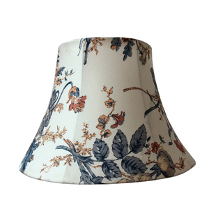 Victorian handicraft printing Embroider cone white lampshade