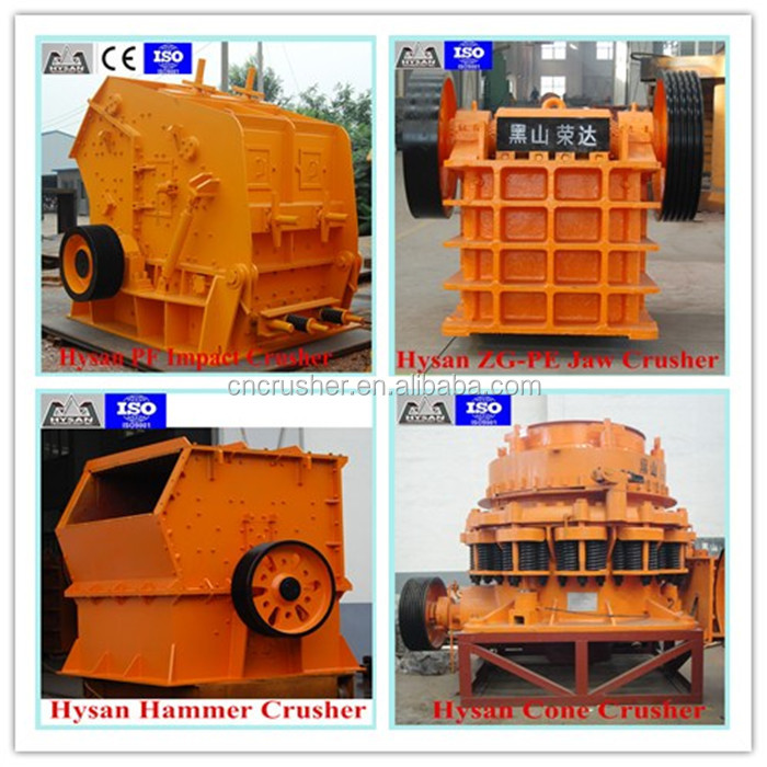Hot sale mining machinery equipment jaw crusher impact crusher cone crusher