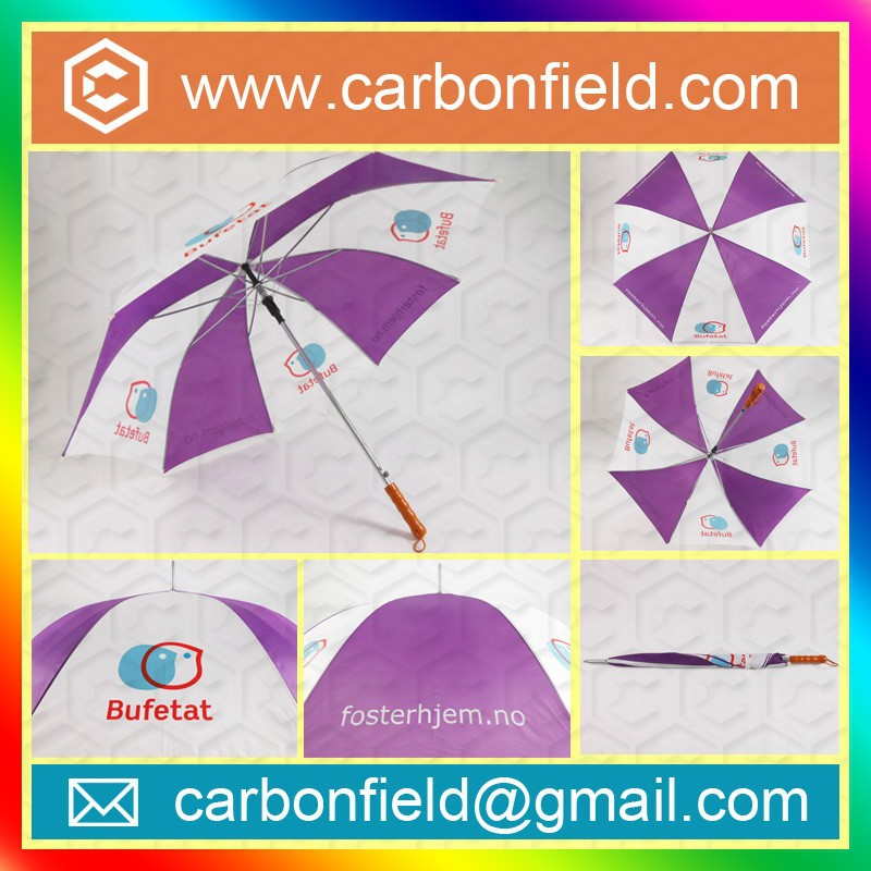 "High quality double canopy storm 68"" golf umbrella,fiberglass frame big size umbrella"