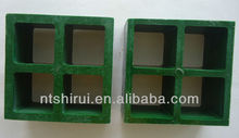 FRP GRP fiberglass grate panel with flat surface for off-shore oil rig