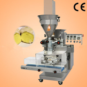 Small desktop automatic double filling mochi ice cream machine