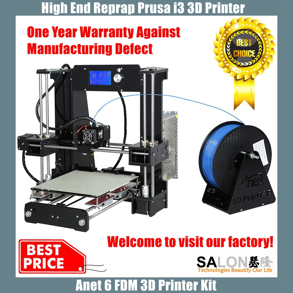 Best 3d drucker impresora in China Anet A8 Reprap Prusa i3 3D Printer