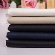 Cotton dyed textile utility pant satin fabric